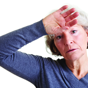 oral progesterone improves hot flashes and night sweats